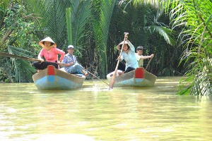 Excursion à Ben Tre, Tien Giang